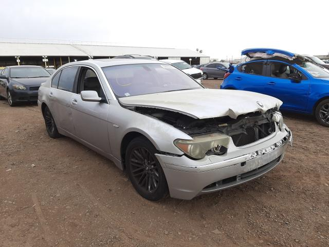 Salvage cars for sale from Copart Phoenix, AZ: 2004 BMW 745 LI