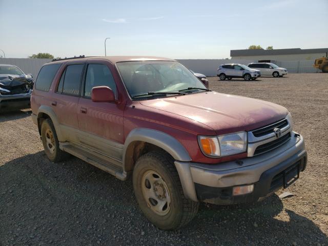 Vehiculos salvage en venta de Copart Bismarck, ND: 2001 Toyota 4runner LI
