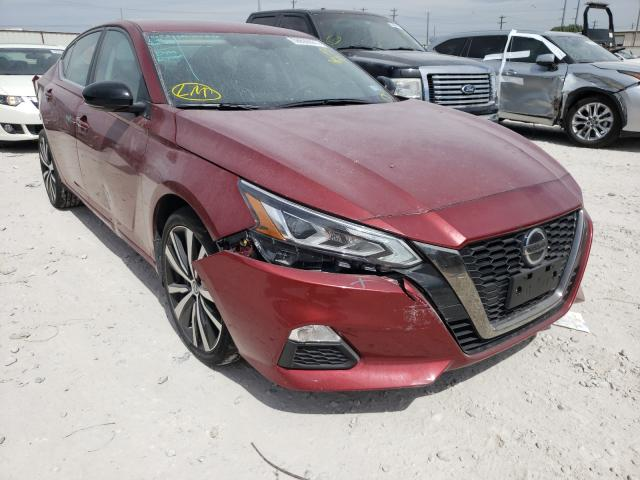 Salvage cars for sale from Copart Haslet, TX: 2021 Nissan Altima SR