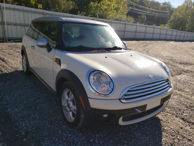 Salvage cars for sale from Copart Hurricane, WV: 2008 Mini Cooper CLU