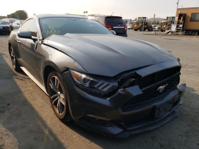 Salvage cars for sale from Copart San Martin, CA: 2017 Ford Mustang