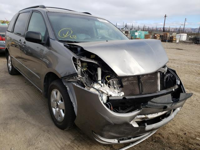 Salvage cars for sale from Copart San Martin, CA: 2004 Toyota Sienna CE