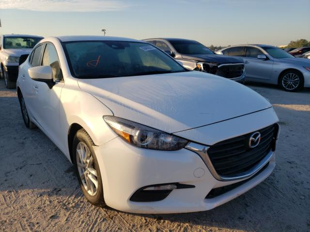 Salvage cars for sale from Copart Houston, TX: 2018 Mazda 3 Sport