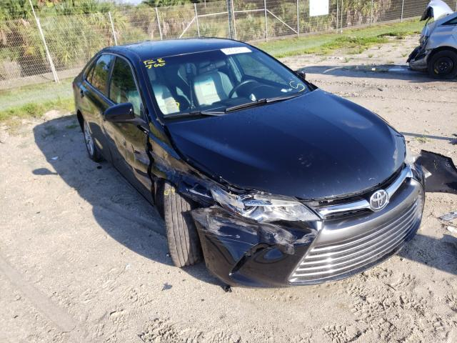 Salvage cars for sale from Copart Fort Pierce, FL: 2017 Toyota Camry LE