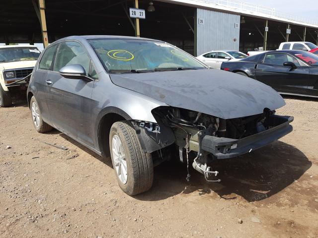 Salvage cars for sale at Phoenix, AZ auction: 2015 Volkswagen Golf