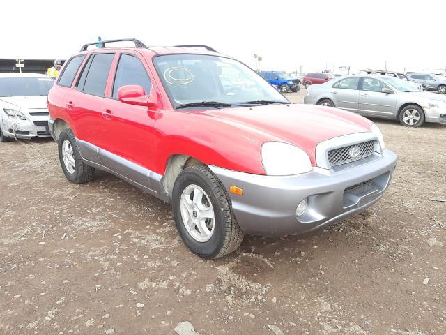 Salvage cars for sale from Copart Phoenix, AZ: 2003 Hyundai Santa FE G