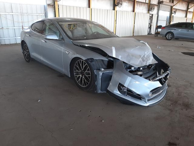 Salvage cars for sale from Copart Phoenix, AZ: 2014 Tesla Model S