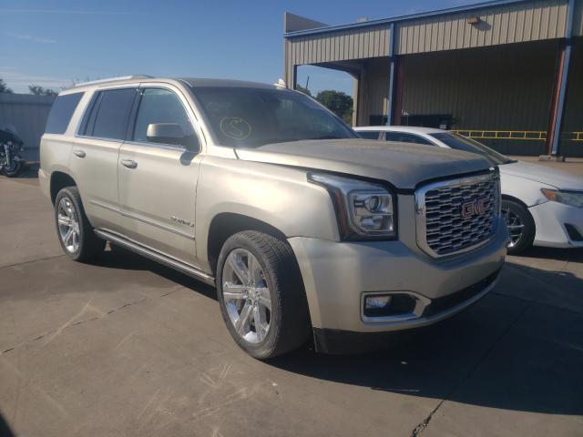 Vehiculos salvage en venta de Copart Wilmer, TX: 2017 GMC Yukon Dena
