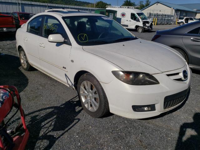 Salvage cars for sale from Copart Grantville, PA: 2008 Mazda 3 S