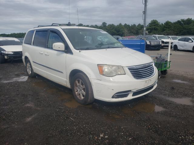 Chrysler Town & Country salvage cars for sale: 2012 Chrysler Town & Country