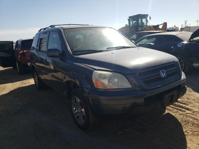Salvage cars for sale from Copart Amarillo, TX: 2003 Honda Pilot EXL