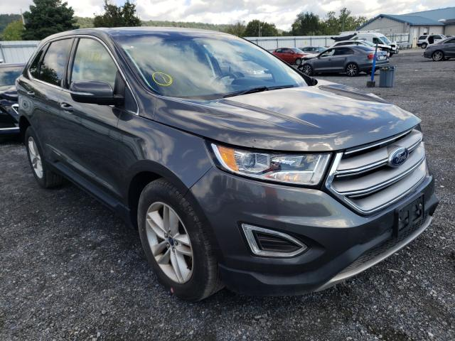 Salvage cars for sale from Copart Grantville, PA: 2017 Ford Edge SEL