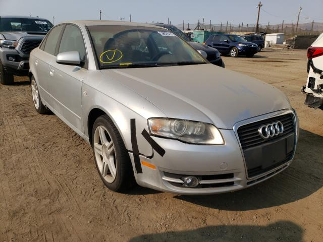 Salvage cars for sale from Copart San Martin, CA: 2007 Audi A4 2