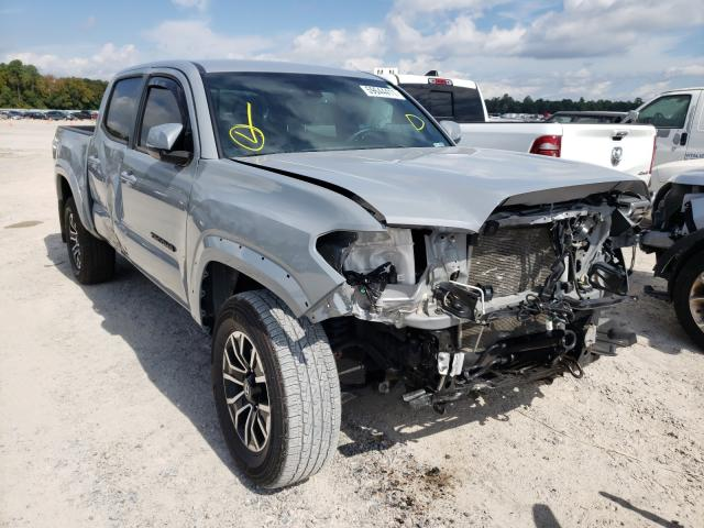 Salvage cars for sale from Copart Houston, TX: 2021 Toyota Tacoma DOU