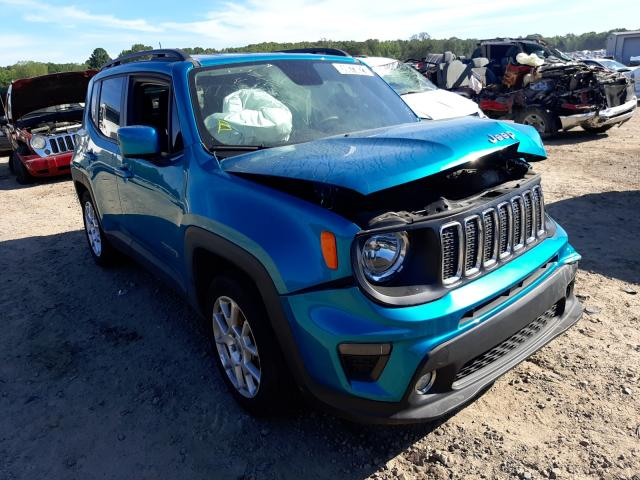 Salvage cars for sale at Conway, AR auction: 2019 Jeep Renegade L