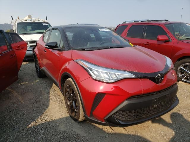 Salvage cars for sale from Copart San Martin, CA: 2021 Toyota C-HR XLE