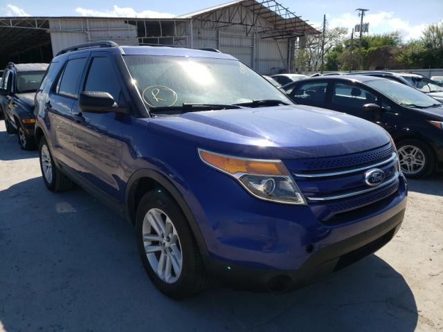 Salvage cars for sale from Copart Corpus Christi, TX: 2015 Ford Explorer