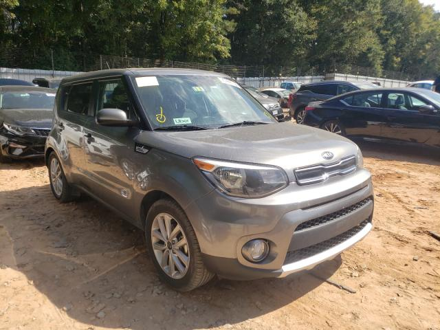 Salvage cars for sale from Copart Austell, GA: 2018 KIA Soul +
