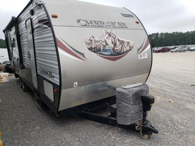Forest River Vehiculos salvage en venta: 2014 Forest River 5th Wheel