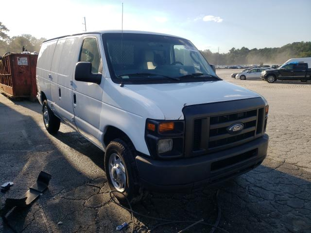 Salvage cars for sale from Copart Savannah, GA: 2014 Ford Econoline