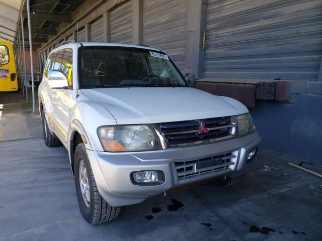 Mitsubishi salvage cars for sale: 2001 Mitsubishi Montero LI