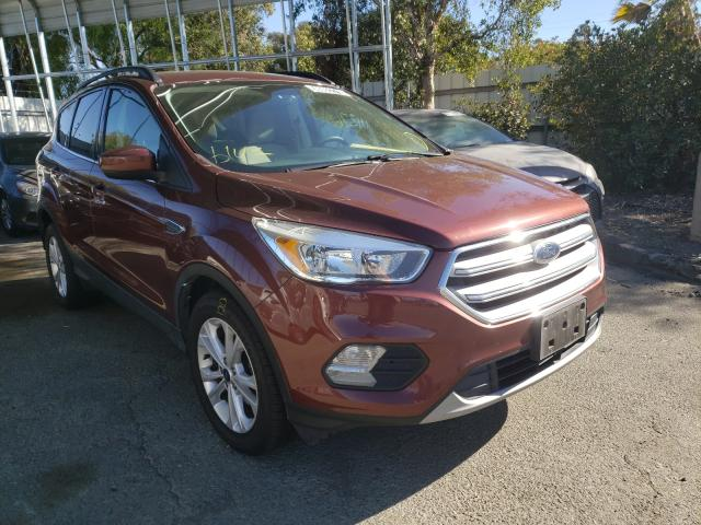 Vehiculos salvage en venta de Copart Martinez, CA: 2018 Ford Escape SE