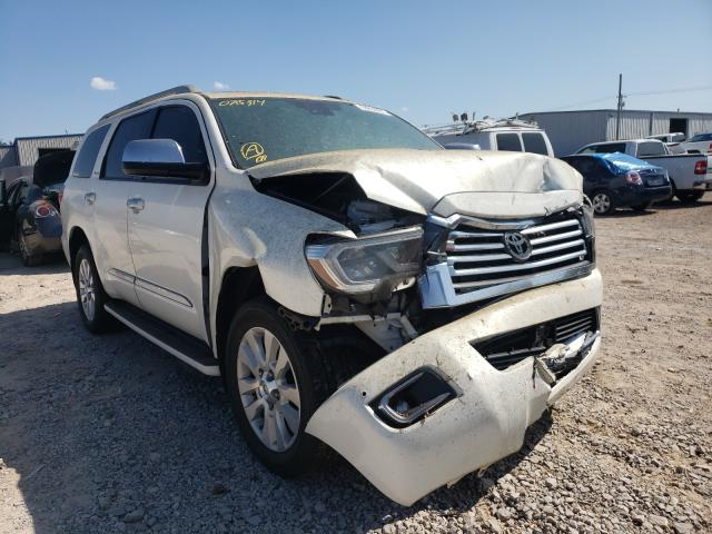 Toyota salvage cars for sale: 2020 Toyota Sequoia PL
