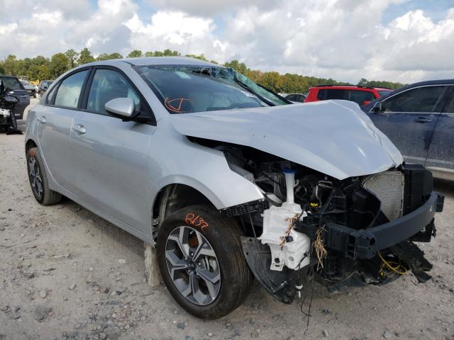 Salvage cars for sale from Copart Houston, TX: 2021 KIA Forte FE