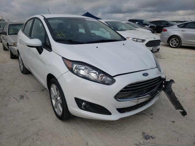 Salvage cars for sale from Copart New Braunfels, TX: 2019 Ford Fiesta SE
