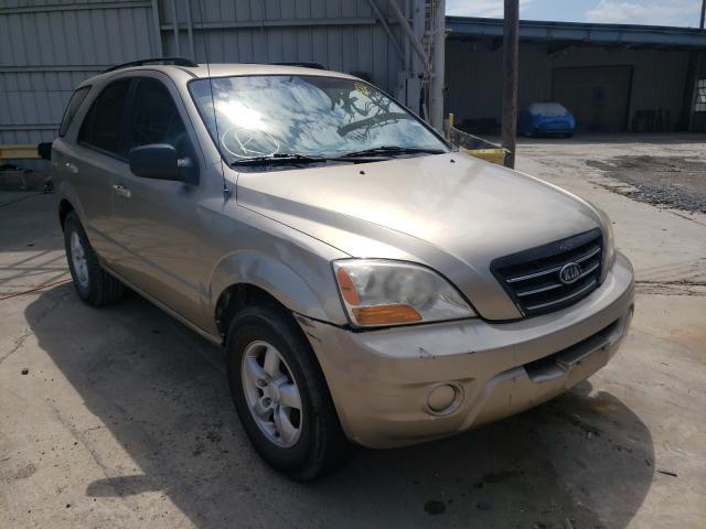Salvage cars for sale from Copart Corpus Christi, TX: 2008 KIA Sorento EX