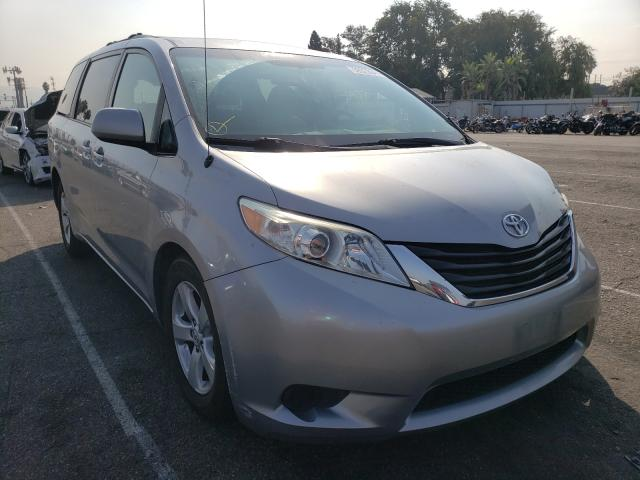 Toyota salvage cars for sale: 2011 Toyota Sienna LE