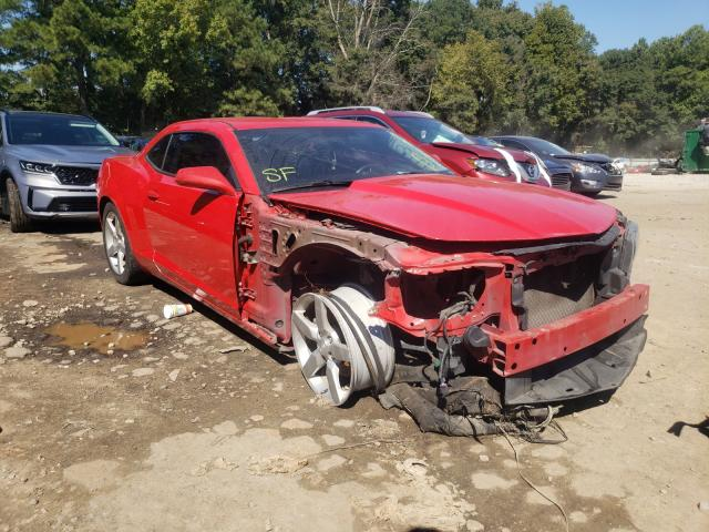 Salvage cars for sale from Copart Austell, GA: 2012 Chevrolet Camaro LT