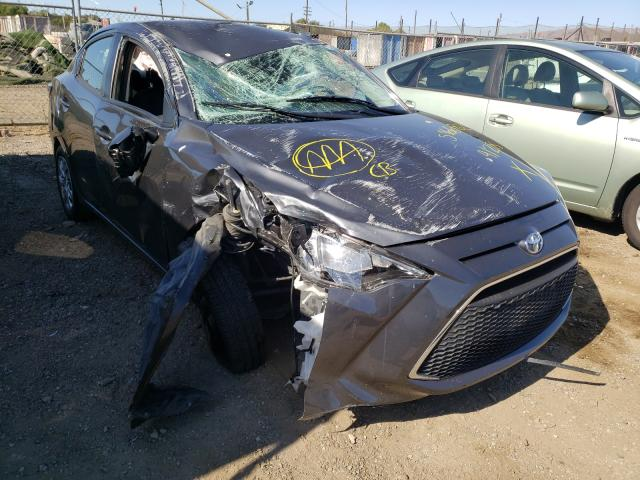 Salvage cars for sale from Copart San Martin, CA: 2019 Toyota Yaris L