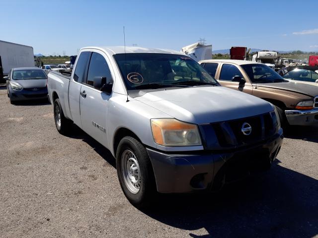 Salvage cars for sale at Tucson, AZ auction: 2008 Nissan Titan XE