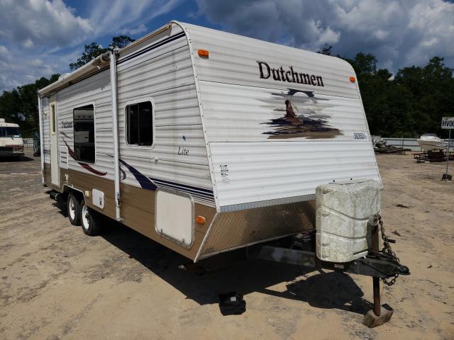 Dutchmen Vehiculos salvage en venta: 2007 Dutchmen Travel Trailer