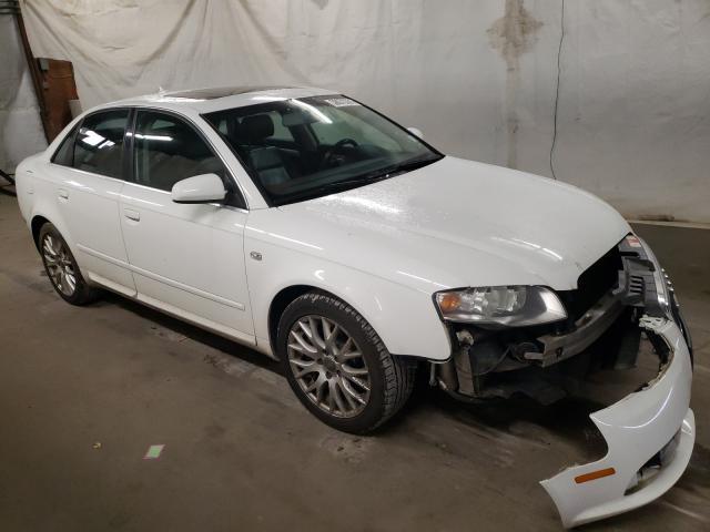 Vehiculos salvage en venta de Copart Ebensburg, PA: 2008 Audi A4 2.0T Quattro
