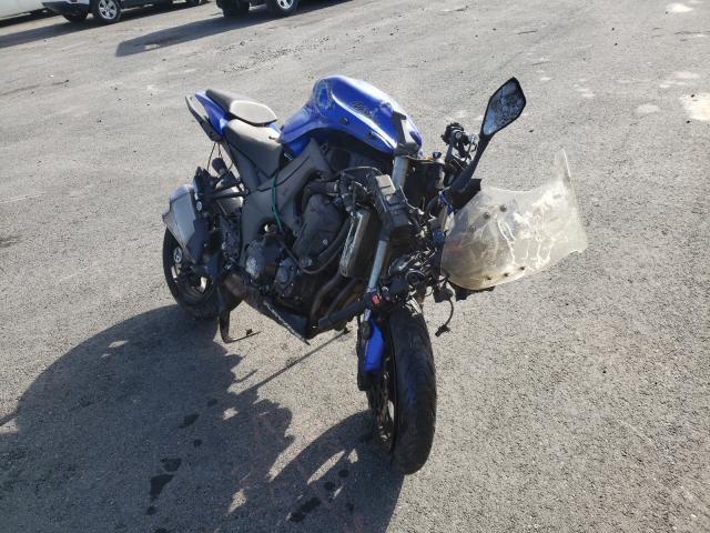 Salvage motorcycles for sale at Reno, NV auction: 2014 Kawasaki ZX1000 M
