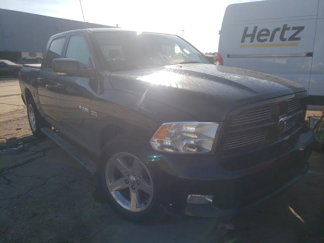 Salvage cars for sale from Copart Woodhaven, MI: 2010 Dodge RAM 1500