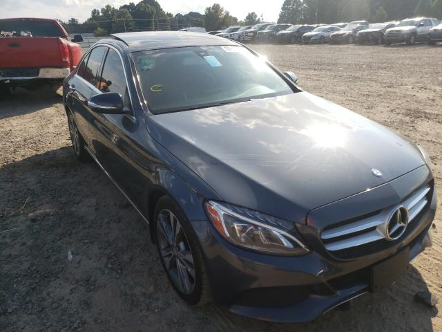 Salvage cars for sale at Conway, AR auction: 2015 Mercedes-Benz C300