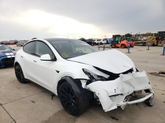 2020 Tesla Model Y en venta en Grand Prairie, TX