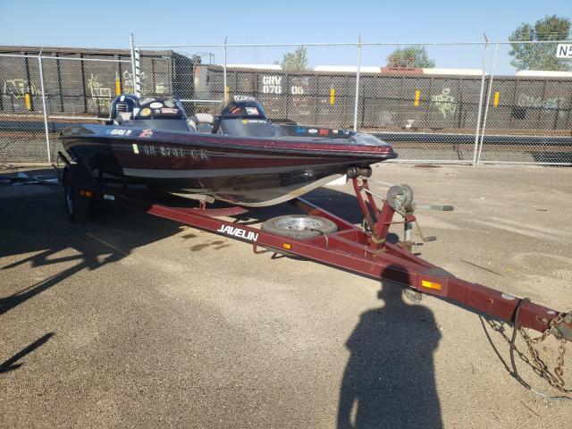 Salvage boats for sale at Moraine, OH auction: 1999 Javelin Boat