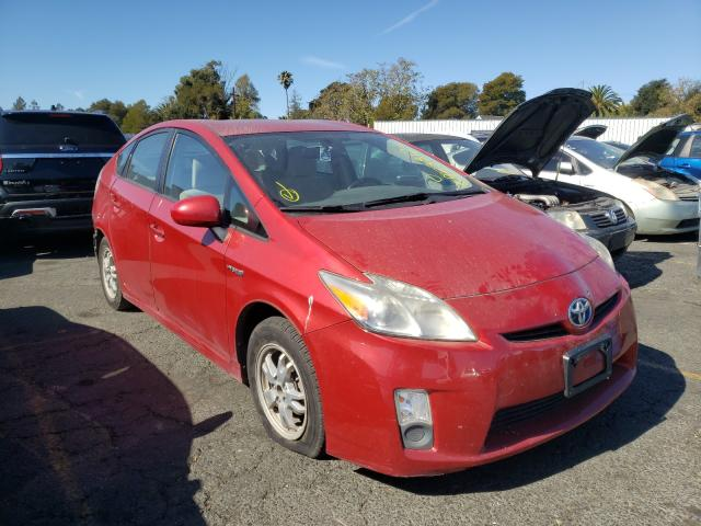 Salvage cars for sale from Copart Vallejo, CA: 2010 Toyota Prius