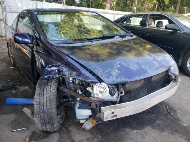 Vehiculos salvage en venta de Copart Austell, GA: 2010 Honda Civic EX