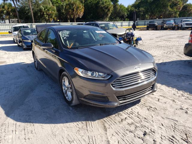 Salvage cars for sale from Copart Fort Pierce, FL: 2015 Ford Fusion SE
