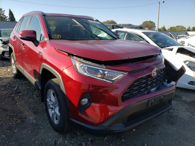 Toyota salvage cars for sale: 2021 Toyota Rav4 XLE