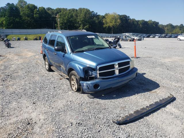 Salvage cars for sale from Copart Gastonia, NC: 2005 Dodge Durango SL