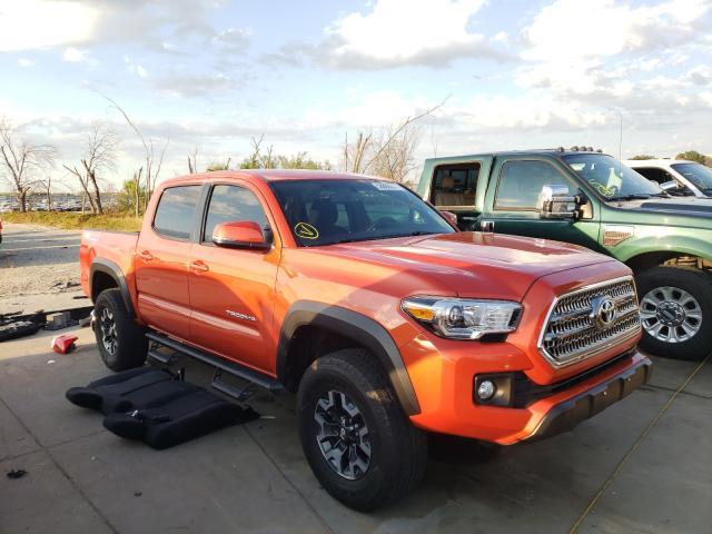 Toyota salvage cars for sale: 2017 Toyota Tacoma DOU
