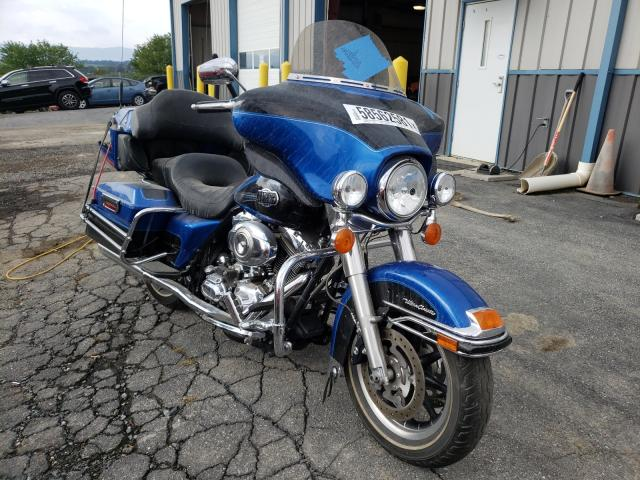 Salvage motorcycles for sale at Chambersburg, PA auction: 2008 Harley-Davidson Flhtcui