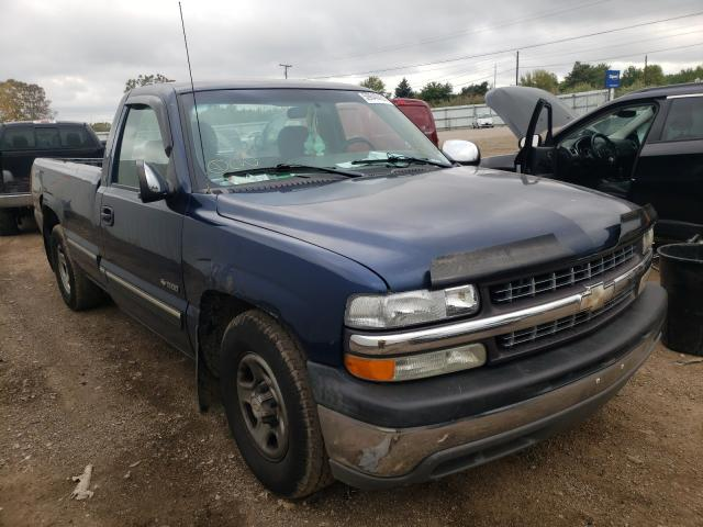 Salvage cars for sale at Columbia Station, OH auction: 2001 Chevrolet Silverado