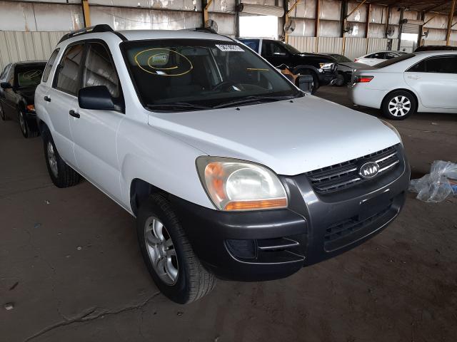 Salvage cars for sale from Copart Phoenix, AZ: 2006 KIA New Sporta